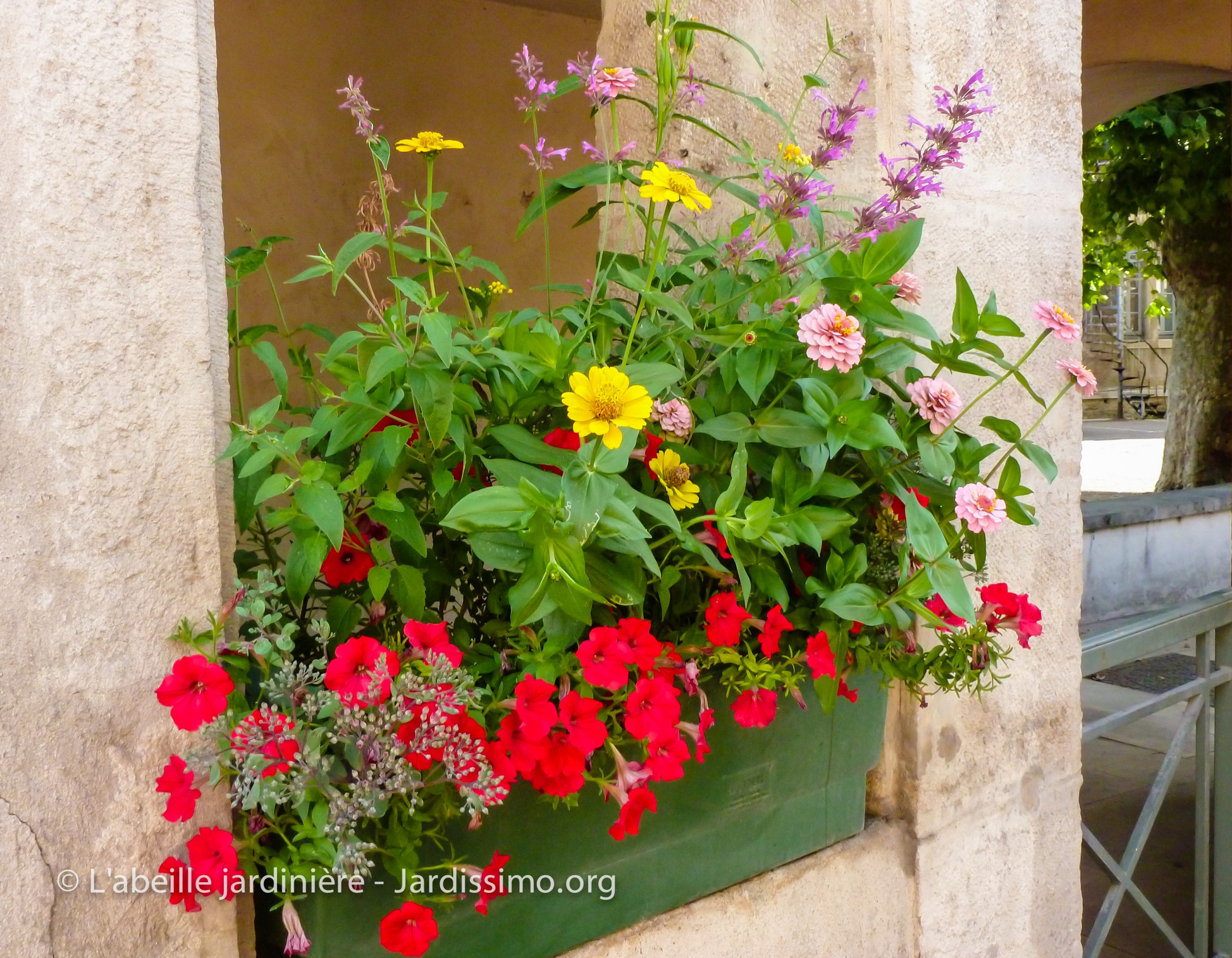 borne de jardin