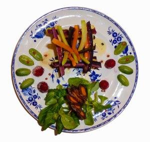 Mikado de carottes tricolore