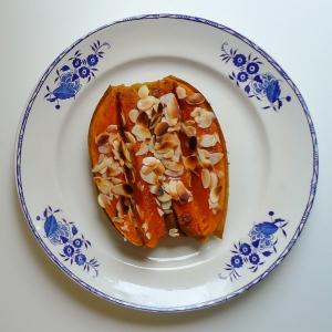 Patate douce en strass et paillettes