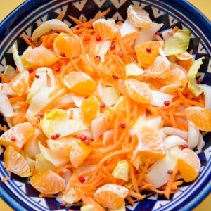 Salade d'endives aux carottes