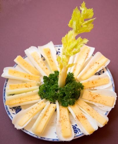 Céleris aux fromages