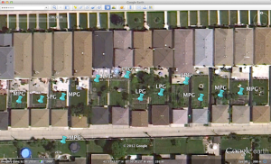 Jardins de ville,  périphérie NW