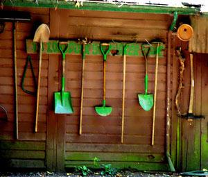 bottes jardin