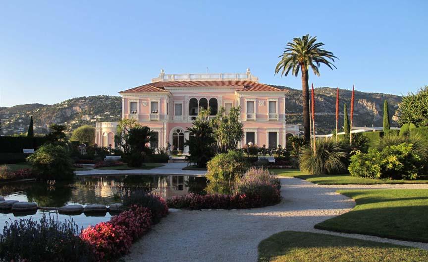 Villa ephrussi de rothchild - Jardins ephrussi de rothschild ...