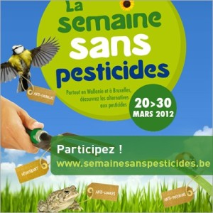 semaine sans pesticides BE 2013