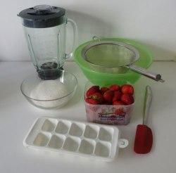 Ce qu'il faut pour préparer un coulis de fraises
